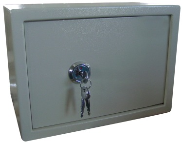 Cross-Key-Lock-Safe-Box