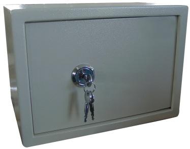 Cross-Key-Lock-Safe-Box